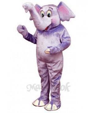 Baby Elephant Mascot Costume