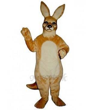 Girl Kangaroo Mascot Costume