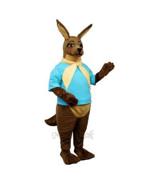 Joe Kangaroo with Shirt & Tie Mascot Costume