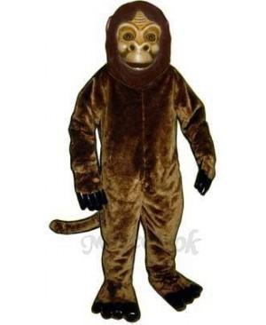 Realistic Monkey Mascot Costume