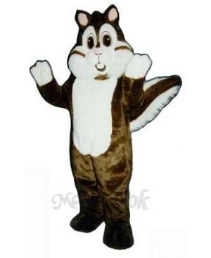 Calvin Chipmunk Mascot Costume