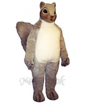 Squire Squirrel Mascot Costume