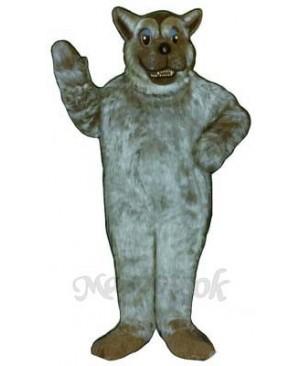 Bad Wolf Mascot Costume