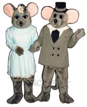 Mr. Mouse Christmas Mascot Costume