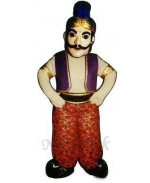 Genie Mascot Costume