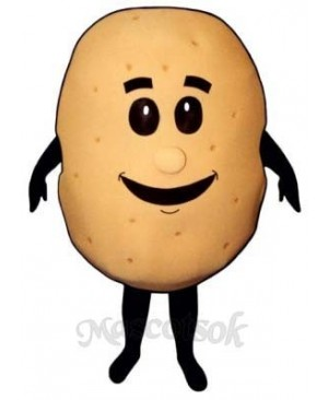 Baked Potato Mascot Costume