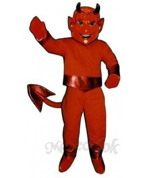 Lucifer Mascot Costume