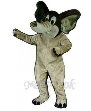 Fighting Elephant Mascot Costume