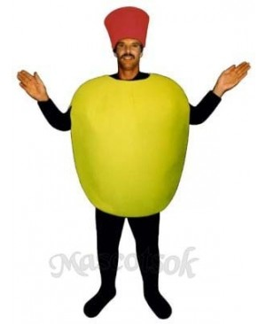 Stuffed Olive Mascot Costume