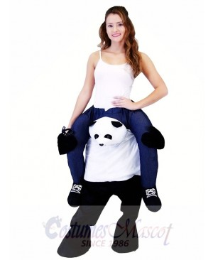 Piggyback Carry Me Ride on Panda Mascot Costume