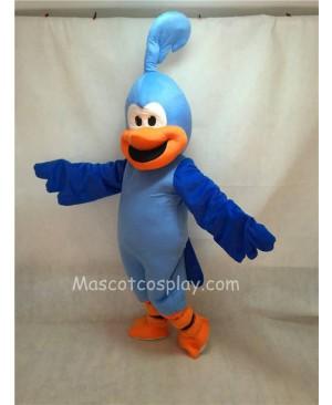 Cute New Blue Roadrunner Bird Mascot Costume