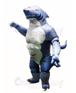Muscular Monster Shark Inflatable Costume