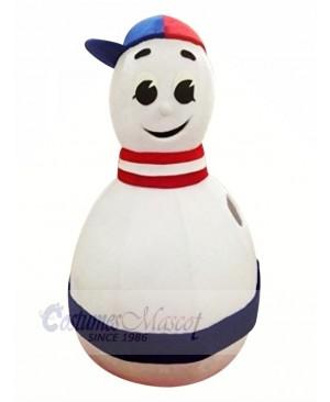 Funny Bowling Mascot Costume School College