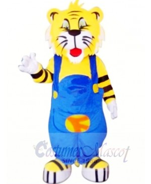 Cute Cartoon Tiger Mascot Costumes