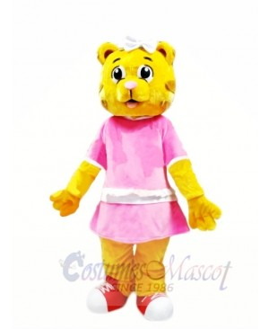 Female Daniel Tiger Mascot Costumes