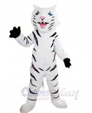 Fierce White Tiger Mascot Costumes