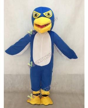 New Dark Blue and White Hawk / Falcon Mascot Costume