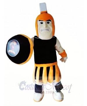 Knight Spartan Trojan Mascot Costume