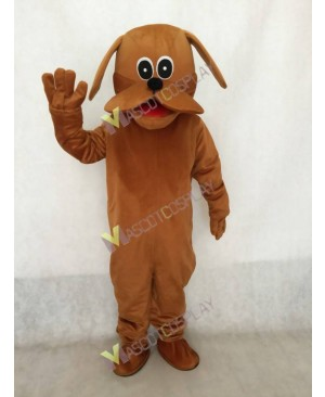 Brown Rooney Dog Mascot Costume