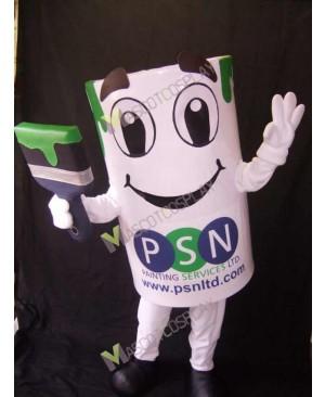 High Quality Adult Paint Pot Mascot Adult Costume