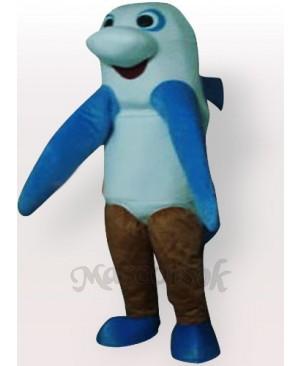 Sea Monster Adult Mascot Costume