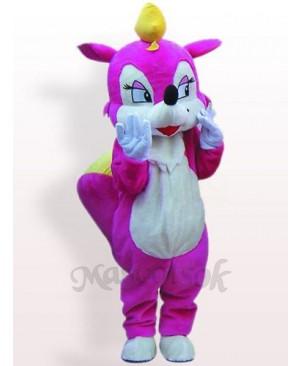 Rose Squirrel Plush Adult Mascot Costume