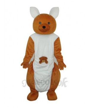 Long-feet Kangaroo Plush Mascot Adult Costume