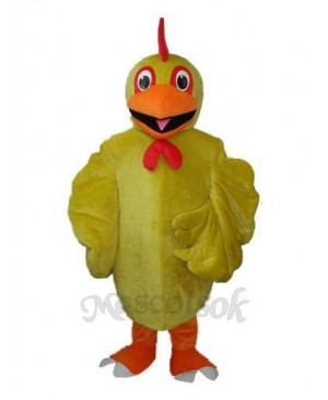 Revised Version Yellow Chicken Adult Mascot Costume