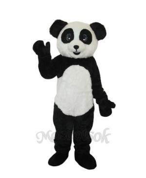 2nd Version Plush Panda Adult Mascot Costume