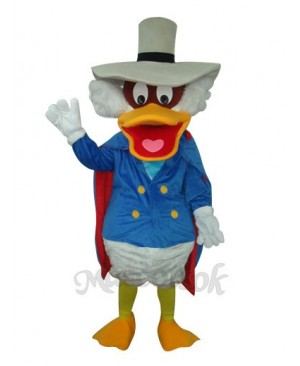 Donald Duck with Pot Hat Plush Mascot Costume