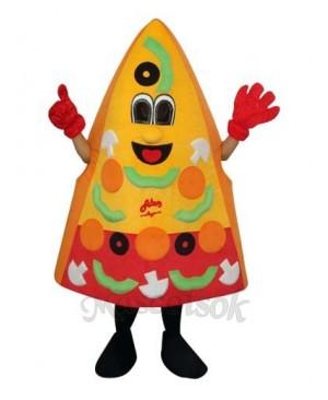 Pizza Mascot Adult Costume