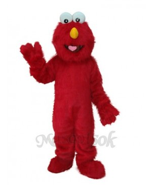 Elmo Plush Adult mascot costume