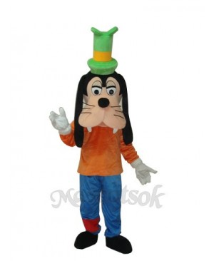 The New Goofy Dog Mascot Adult Costume