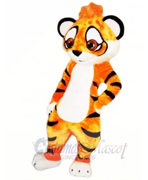 Cute Amur Tiger Mascot Costumes