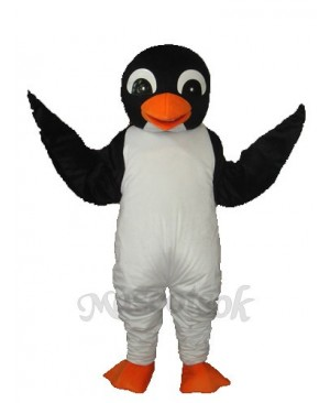 Orange Mouth Penguin Mascot Adult Costume