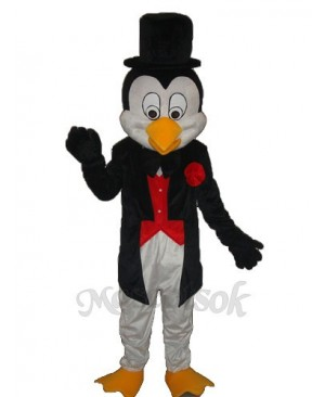Baby Penguin Mascot Adult Costume