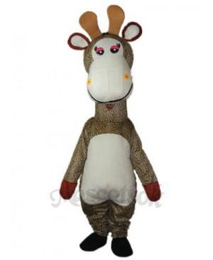 Giraffe Mascot Adult Costume