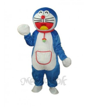 Red Side Pocket Doraemon Mascot Adult Costume
