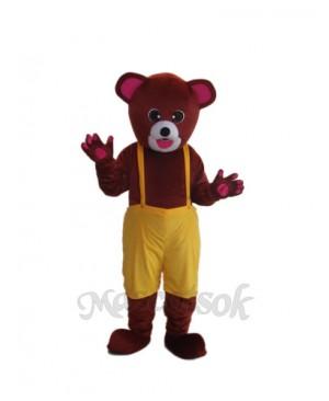 Brown Bear Mascot Adult Costume