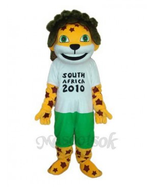 Obama Lion with Logo Mascot Adult Costume