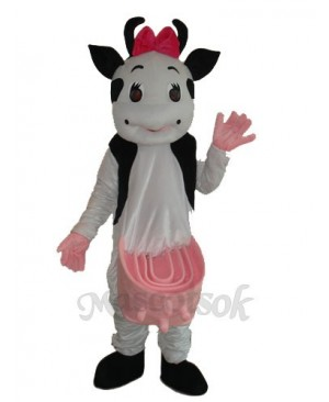 No.2 Cow Mascot Adult Costume
