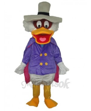 Revised Donald Duck with Pot Hat Mascot Adult Costume