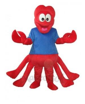 Strange Red Claw Mascot Adult Costume