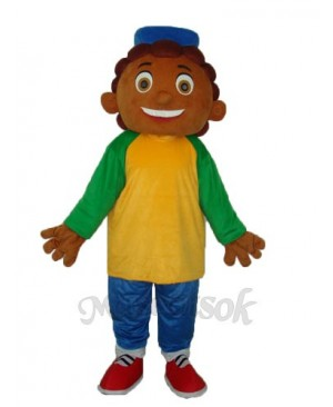 Pineapple Boy Mascot Adult Costume
