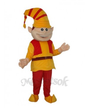 French Clown (Revised) Mascot Adult Costume
