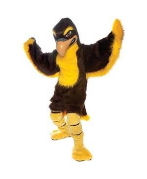Adult Fierce Falcon Mascot Costume
