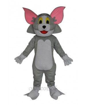 Tom cat adult mascot costume