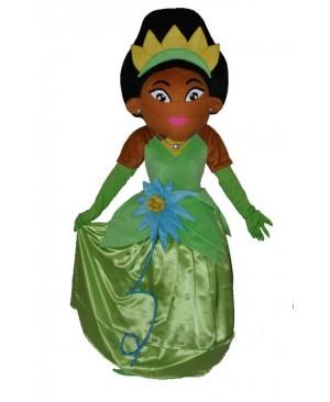 African & Indian Princess mascot costumes
