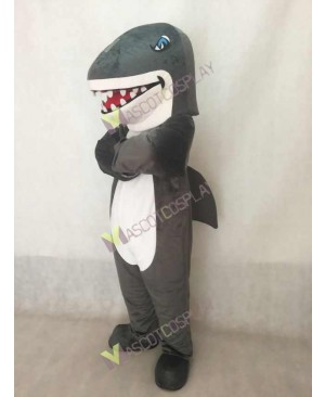 New Grey Shark Mascot Costume