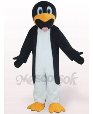Black And White Slim Penguin Plush Mascot Costume